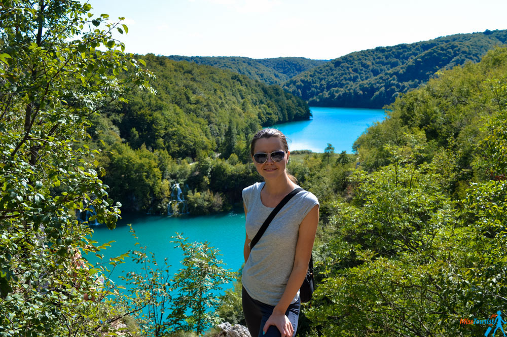 Plitvice lakes Miss tourist
