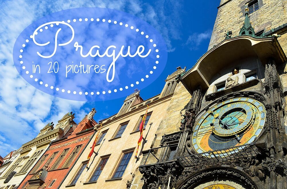 Prague in 20 pictures cover