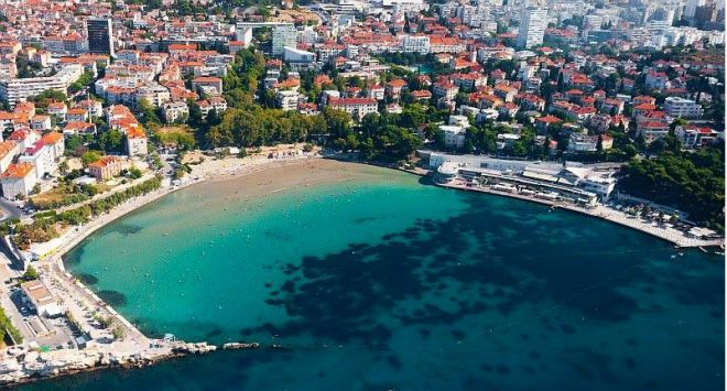 Split Beach Croatia