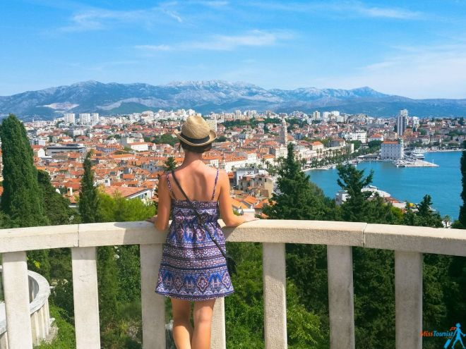 Top 10 Things To Do In Split, Croatia Split Croatia Marajan Hill split old town