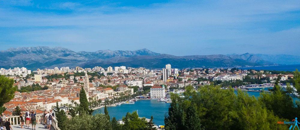 Split Croatia view overlook belvedere2