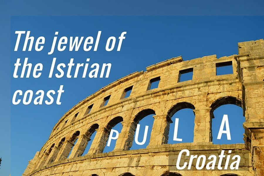 The jewel of the Istrian coast Pula Croatia 4