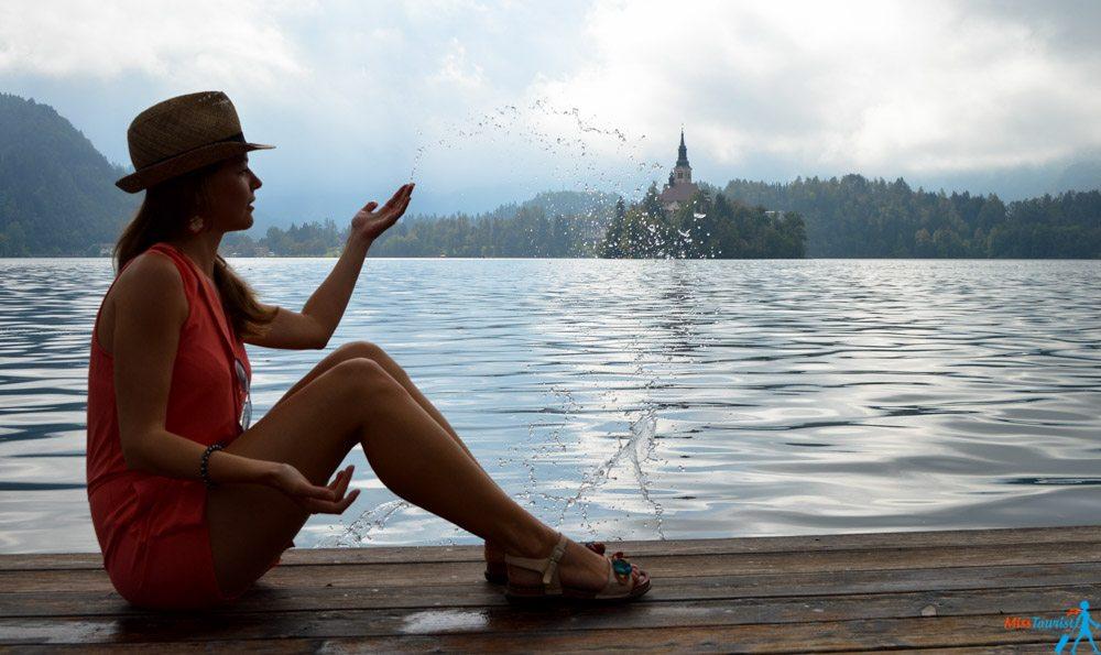 lake Bled jezero island