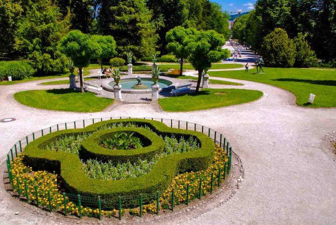 tivoli park ljubljana slovenia