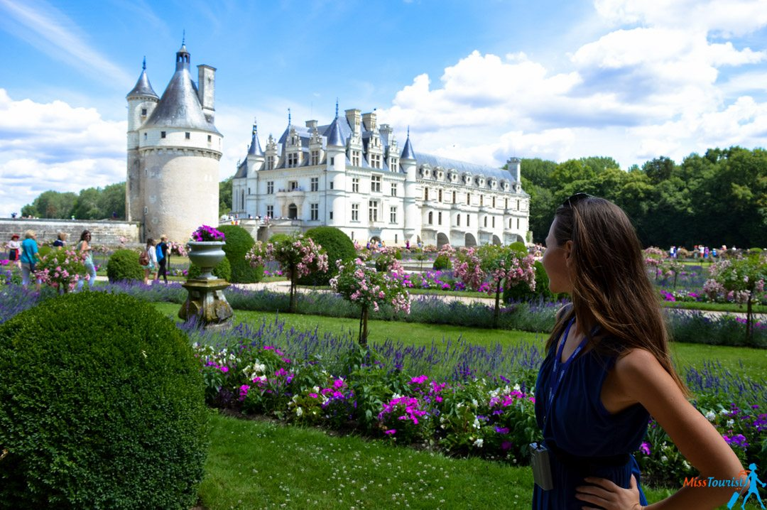 3 chateau chenonceau view france