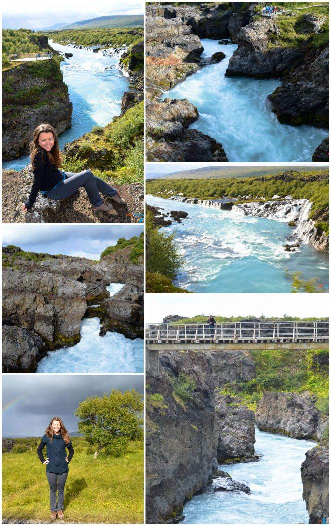 Barnafoss Waterfall2