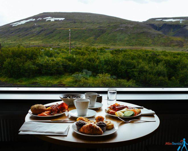 Breakfast husafell hotel