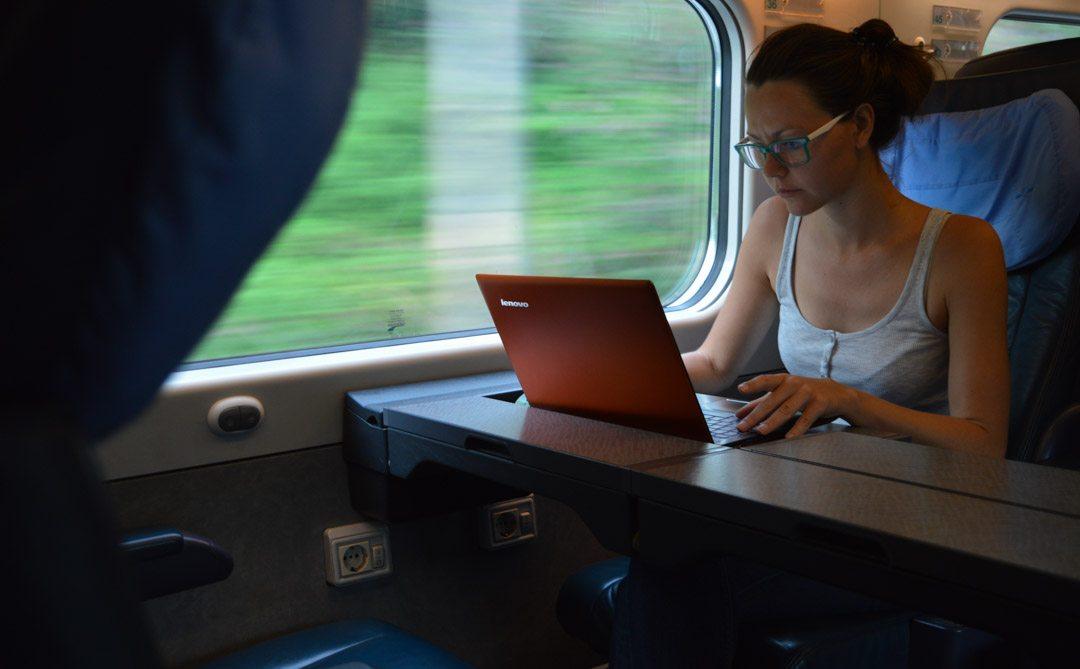 European trains inside