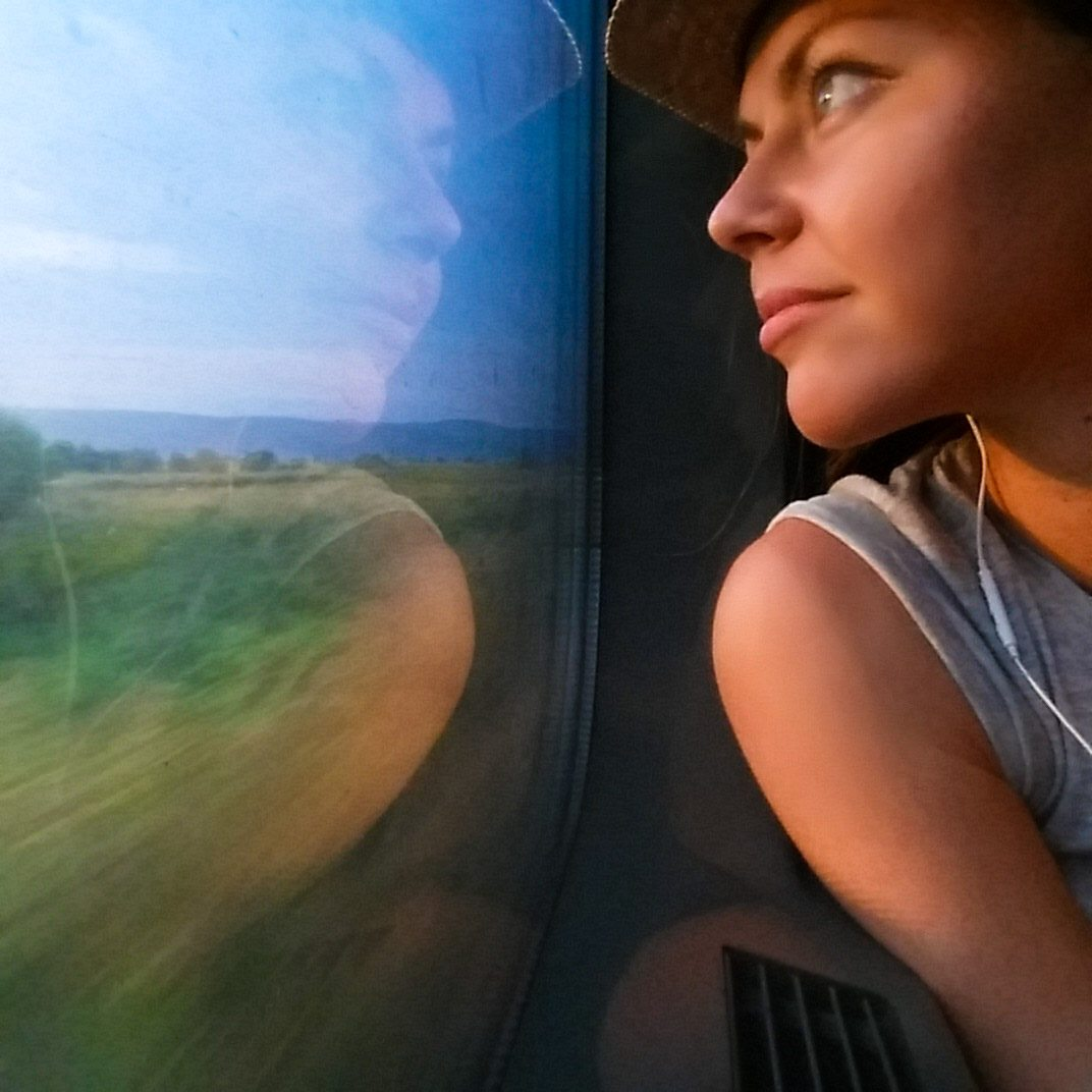 Traveling by train Europe