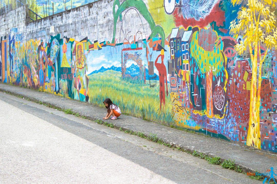 Colorful pueblo Jardin Antioquia