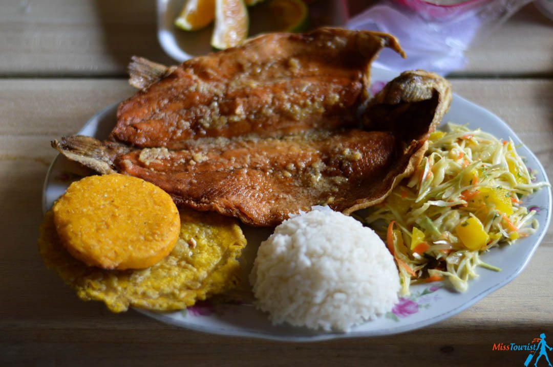 Trout traditional food colombia