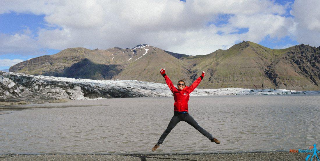 4 Skaftafell glacier