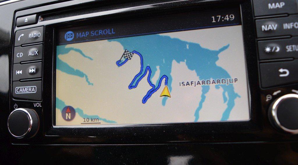 Iceland GPS Western fjords