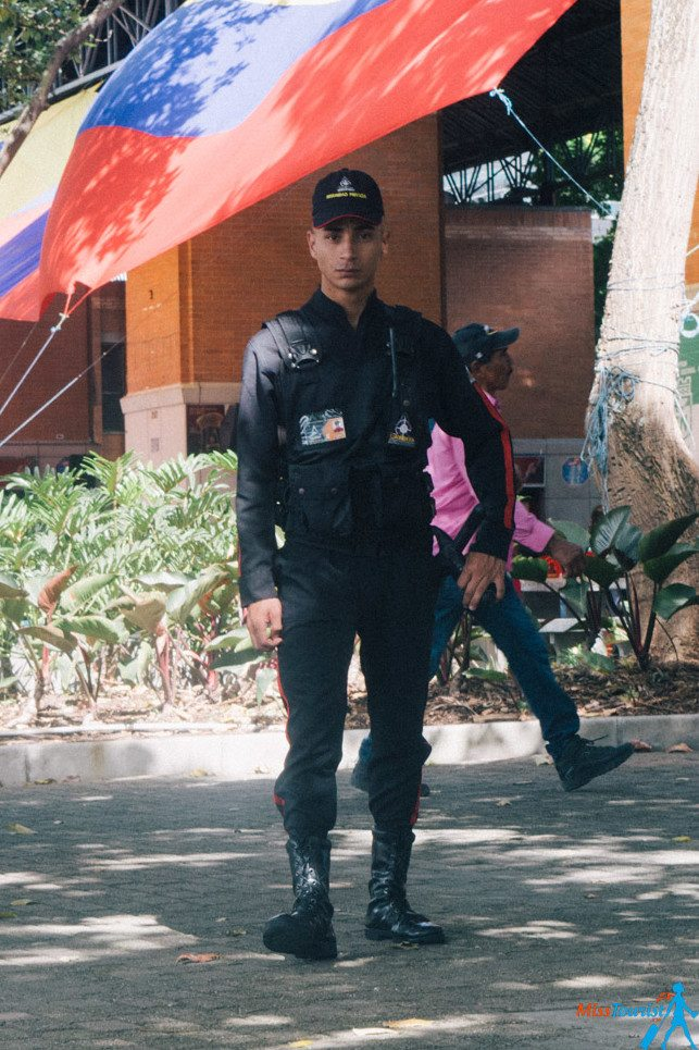 Colombia police