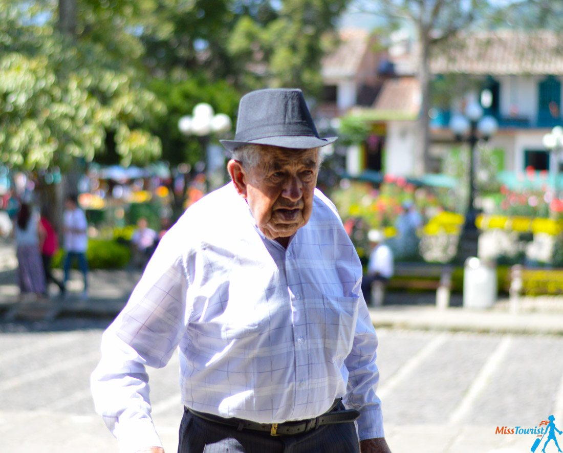 Old man colombia
