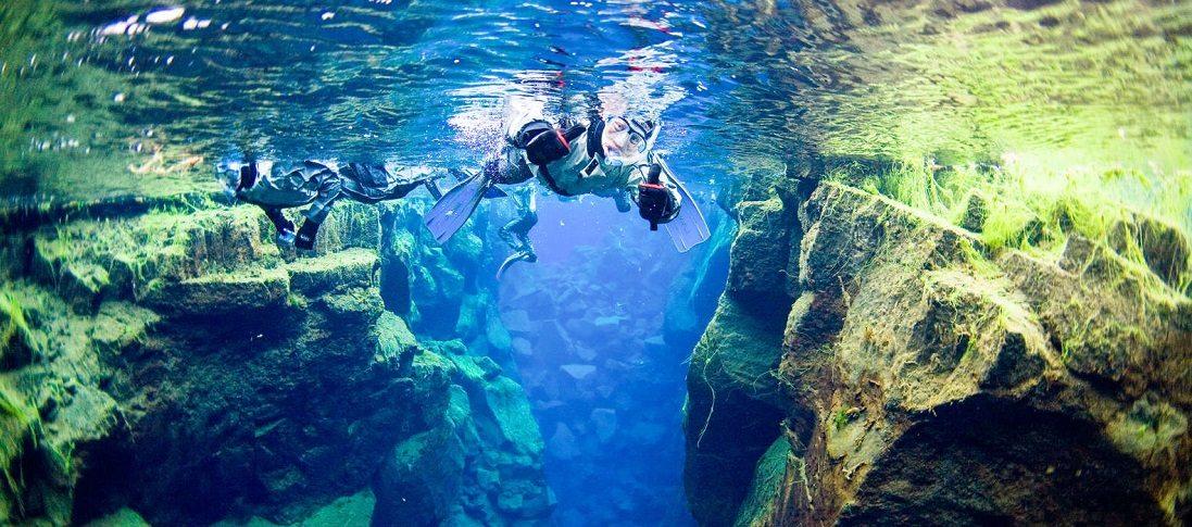 Silfra Fissure Snorkeling Iceland