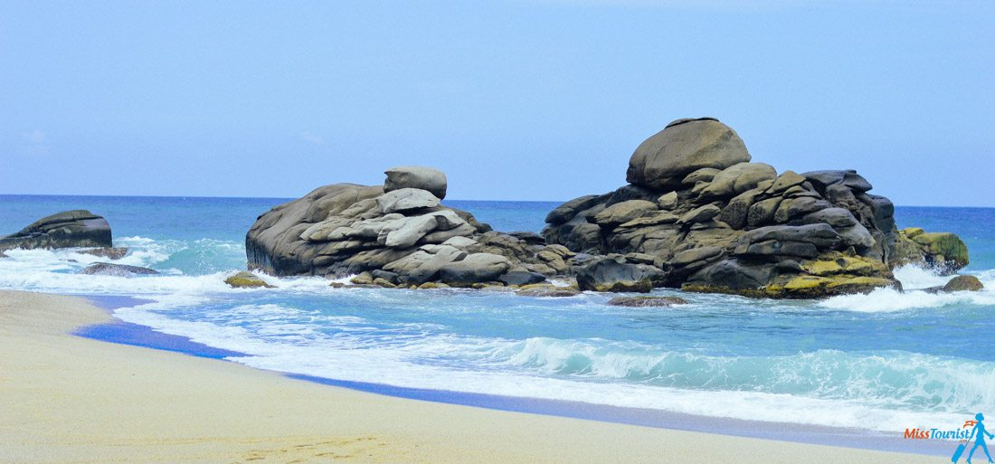 Tayrona national park beach