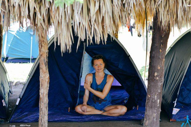 Cabo verde Tayrona park camping