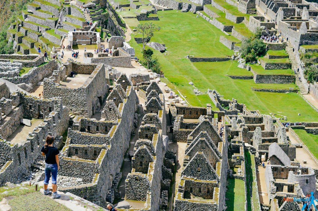 Climbing Machu Picchu Peru