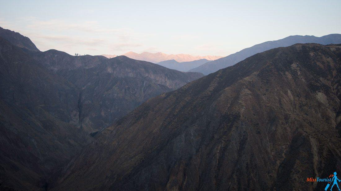 Colca Canyon Peru altitude