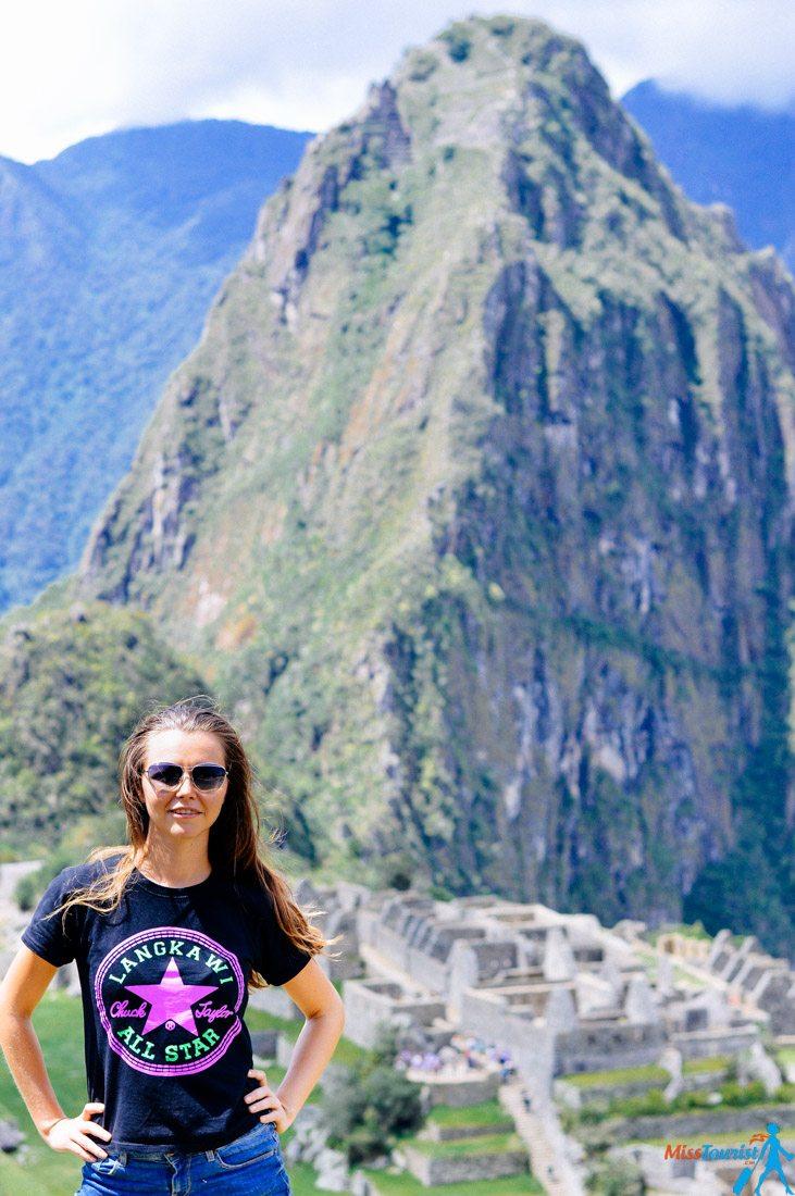 Machu Picchu view on Huyana Picchu