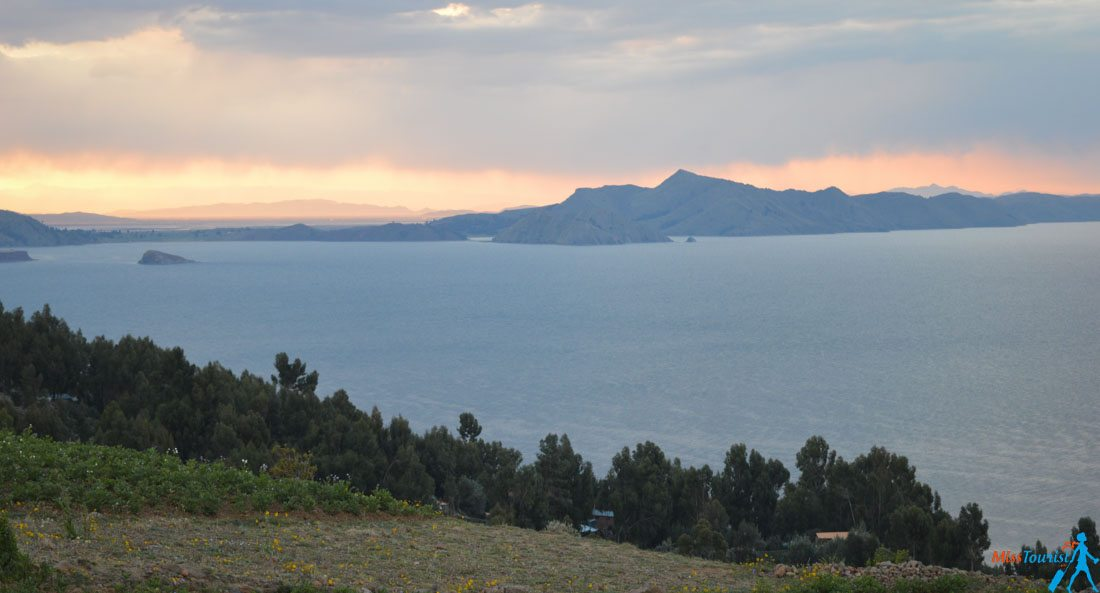 highest lake in the world Titicaca