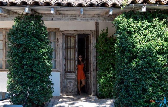 Casa Silva courtyard