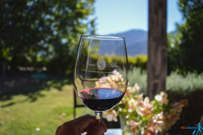 Casa Silva wine tasting