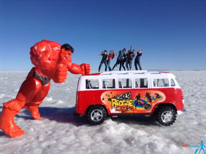 Salar de Uyuni funny pics world's largest salt flat