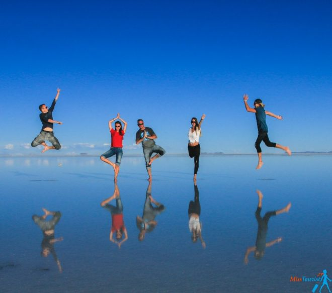 Salt flats Bolivia world's largest salt flat