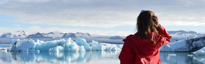 Iceland ice lagoon