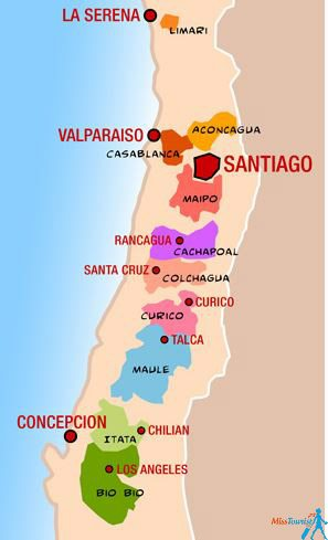 wine region in Chile