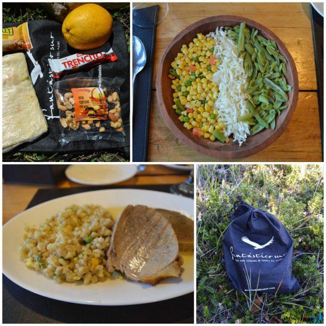 Torres del Paine full board food Fantastico Sur
