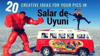 20 creative ideas for your Salar de Uyuni pics