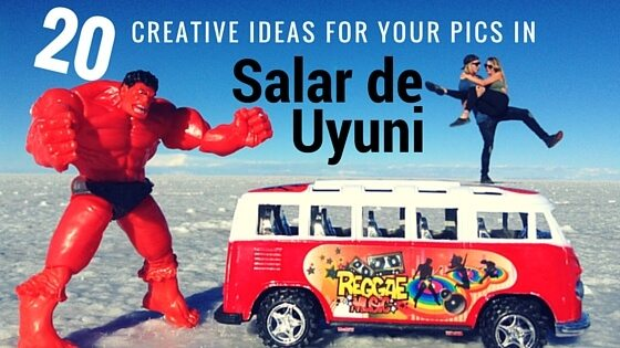 20 creative ideas for your Salar de Uyuni pics