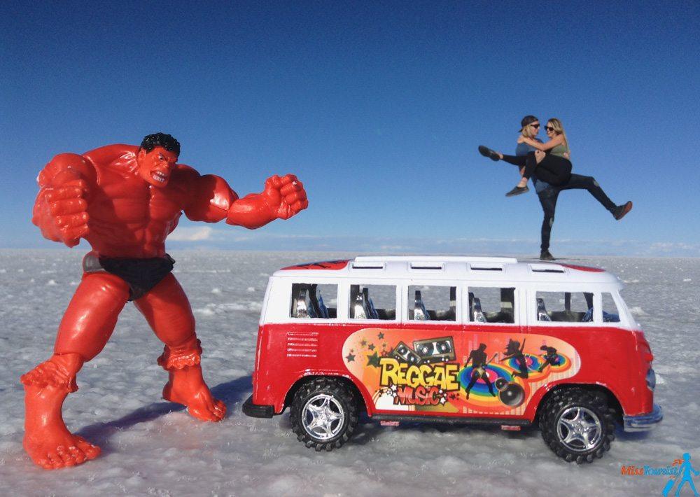 Salare de Uyuni Bolivia funny pictures