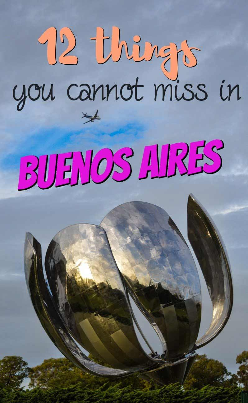 12 things you cannot miss in Buenos Aires Misstouristcom