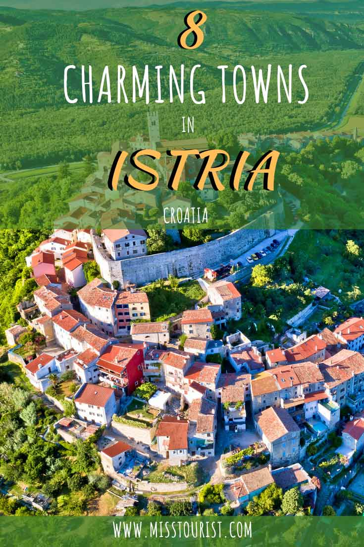 istria towns