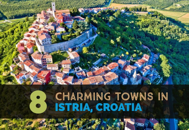 8 charming towns in Istria cover