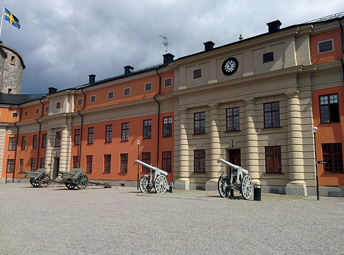 vaxholm canon fortress
