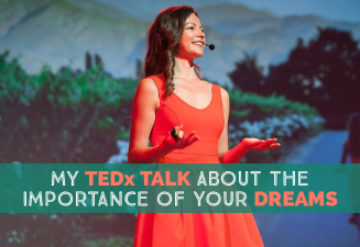 TEDx talk about the importance of your dreams and how I became a travel blogger