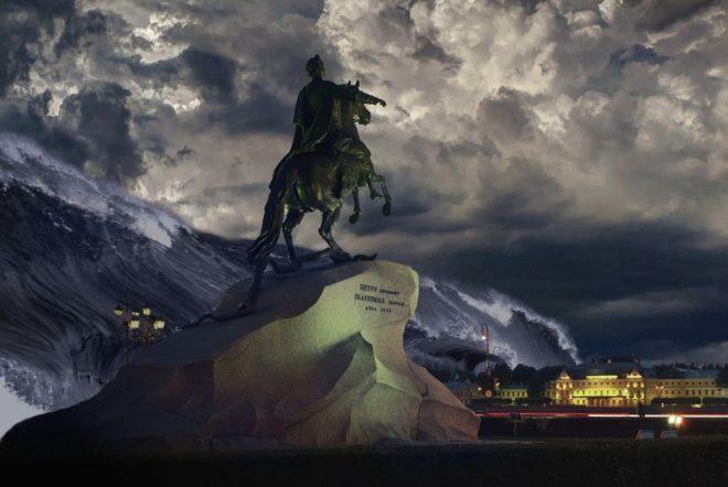 bronze horseman saint petersburg russia