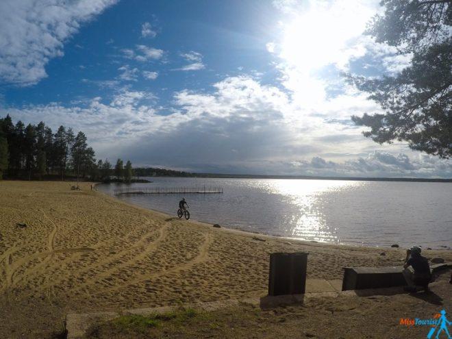 lulea beach stockholm sweden