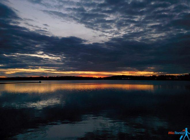 midnight sun lulea sweden stockholm