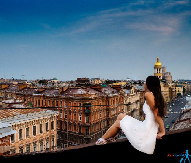 rooftop tour Saint Petersburg russia
