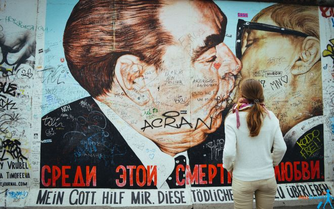 Things to do in Berlin - 0 Berlin wall kissing Brezhnev