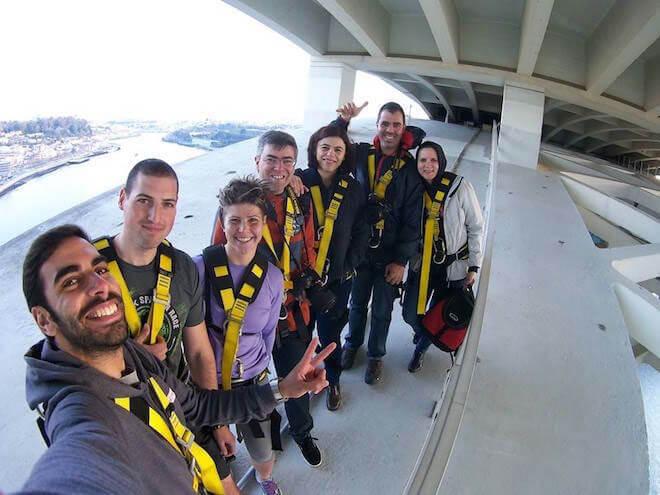 1. climb arrabida bridge