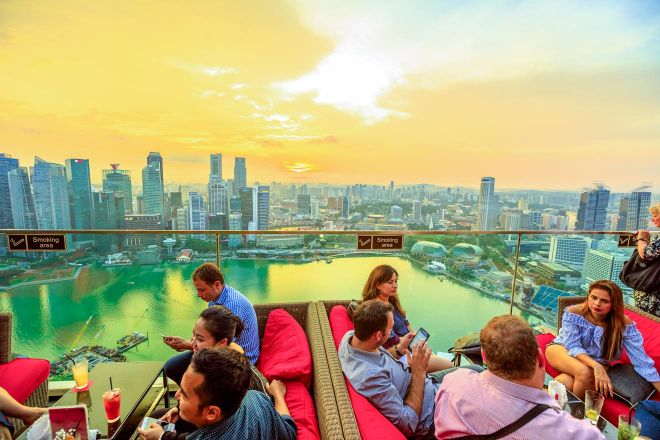 13 Best Things To Do In Singapore Rooftop Bar