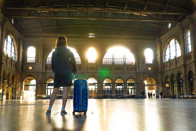 Interrail Eurrail - is it really worth it train station platform