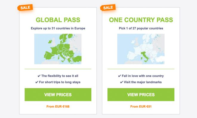Interrail Eurrail - is it really worth it type of passes